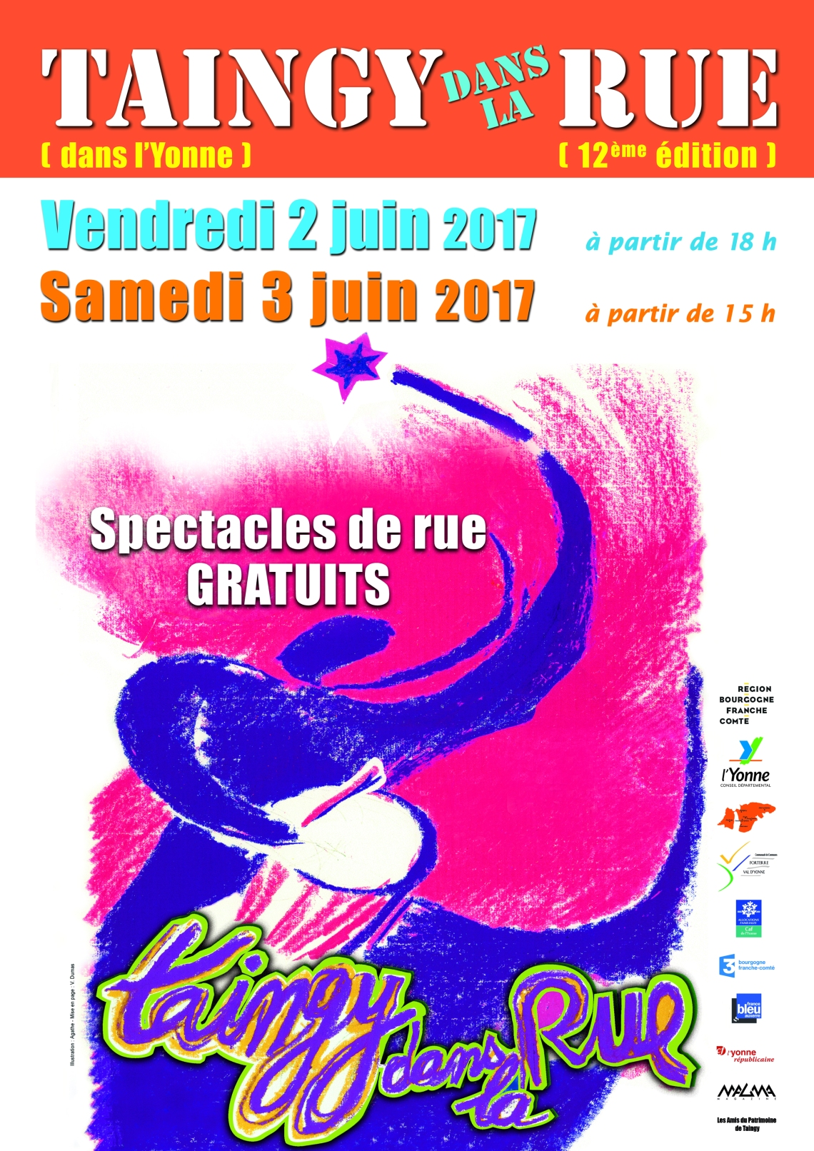affiche taingy rue 2017 A4