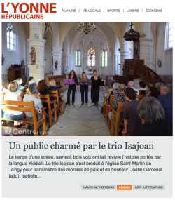 Presse Isajoan 2017